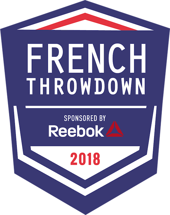 French Throwdown 2018 - Training Distribution